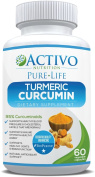Turmeric Curcumin w/ Bioperine for Pain Relief & Joint Support, Cognitive Function, Anti-Ageing - Anti-Inflammatory, Antioxidant Supplement Max Potency 95% Curcuminoids, Best Absorption - Made in UK!