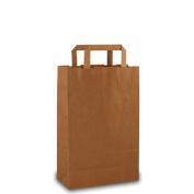 25 Paper Bags Brown 22 x 10 x 36 cm