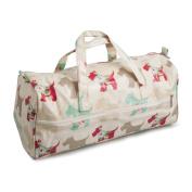 HobbyGift MR4698SCOTTYPVC | Scotty Dog Knitting Bag | 15 x 42 x 17.5cm