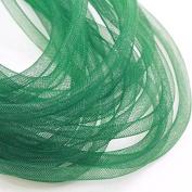 Beads4Crafts Green Crinoline Tube 8mm (1 Metre) CC718