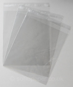 Cello Mount Bags 260 x 307mm + 30mm Lip Self Seal packed in 100's