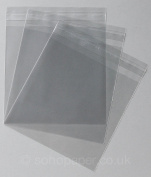 Cello Bags 150 x 145mm + 30mm Lip Self Seal packed in 100's