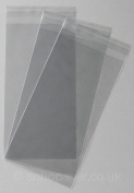 Cello Bags 114 x 220mm + 30mm Lip Self Seal packed in 100's