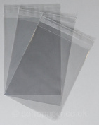 Cello Bags (5x7) 137 x 184mm + 30mm Lip Self Seal packed in 100's