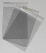 Cello Bags 120 x 162mm + 30mm Lip Self Seal packed in 100's