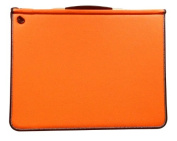 Artcare 15483310 46 x 5 x 36 cm A3 Synthetic Material Premier Portfolio with 5 Free Sleeves, Sunset Orange