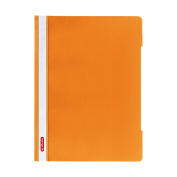 Herlitz A4 Paper Flat File - Orange