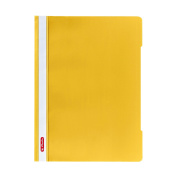 Herlitz A4 Paper Flat File - Yellow