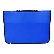 Artcare 15211090 36 x 4 x 28.5 cm A4 Synthetic Material Academy Portfolio, Royal Blue