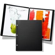 Prat Start Premium Post-bound Slimbook 19x13