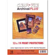 Archival Plus Print Bags 13x19 Pkg 10