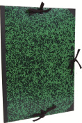 Clairefontaine Annonay Art Folder with Ties, Polyester, Green, 61 x 76 cm