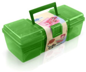 Birch 007007/lime | Lime Tool Box Sewing Kit | 30 x 11 x 13cm