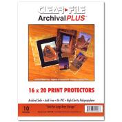 Archival Plus Print Bags 16X20 Pkg 10