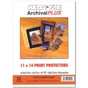 Archival Plus Print Bags 11X14 Pkg 25