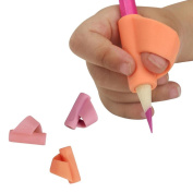 Jamicy 3PCS/Set Silicone Pencil Holder Pen Writing Aid Grip Posture Correction Tools for 3 to 12 Years Old Kids