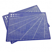 Nacpy A4 Self Healing Cutting Mats Non-slip Printed Grid Line Board Crafts High Quality Design Blue