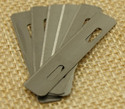 30pcs Leather Skiver and Beveler Replacement Blades