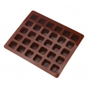 Bovake Silicone Letter Alphabet Cake Fondant Mould Chocolate Cookies Candy Mould