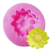 Bovake Silicone 3D Flower Cake Chocolate Mould Mould Modelling Decorating Tool