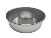 Cake Tin for Donut with Hole Diameter 18 x 6.5 (H) cm in Aluminium