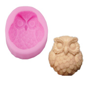 Albeey Pink Owl Shaped Mould
