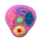 ChengYa 3D Diamond Silicone Mould Bake Candy Jello Cake Mould for Kitchen