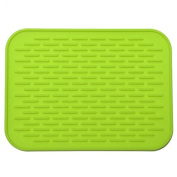 yipinco7285 Kitchen Silicone Mat Non Slip Table Saucepan Heat Insulation Holder Mat Pad