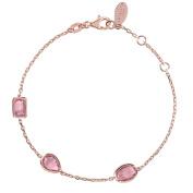 Venice Bracelet Rosegold Pink Tourmaline