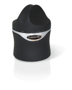 Vin Bouquet Champagne Stopper, ABS and TPR, Black, 6.5 x 4.5 x 4.5 cm