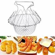 Kitchen Utensil Basket for steam, Boil, Fry, Bake, egoutter