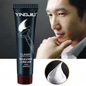 MSmask Shaving Cream Foam Beard Manually Water Retention Deep Clean Men Skin Face Care