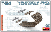 Miniart 1/35 T-54 OMSh Track Link Set. Early Type # 37046