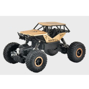 YIIXN Remote Control Four-wheel Drive Off-road Vehicles Four-wheel Drive 2.4G Remote Control Alloy Waggon Kids Toys