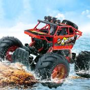 YIIXN Children Toy Car Amphibious Four-wheel Drive Climbing Remote Off-road Vehicles High Speed Racing All Terrain