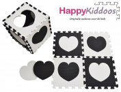 Happy Kid Doos Jigsaw Puzzle Foam Mat Puzzle Children's Rug Play Mat Foam Lock. Each Mat Is 30 x 30 cm Diameter 1 cm Thick