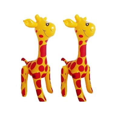 Bello Luna Inflatable Toys Animal Giraffe Party Decor Favour Assortment-2Pcs