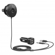 Bluetooth Receiver, TaoTronics Bluetooth Car Kit, Bluetooth 4.1 Hands-Free Audio Adapter