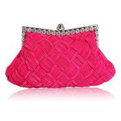LeahWard® Women's Fashion Crystal Evening Clutch Purse Bag Bridal School Prom Dress Bags Purse Handbags For Women