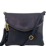 TUSCANY LEATHER Women's Shoulder Bag Blue blue One Size