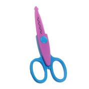 Aulley Handcraft Scrapbook Lace Scissors Kid Safety Creative Paper Edging DIY Tool