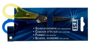 TSI 41147 Student Scissors With Left Handed Nib Assorted Colours with Scale 13 cm/5 cm
