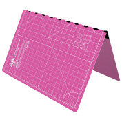 ANSIO A3 Self Healing Foldable Cutting Mat Imperial 43cm x 28cm – Pink
