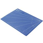Bluelans® A4 Cutting Mat Self Healing Non Slip - 30cm x 22cm - Blue