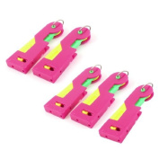 Elder Sewing Helper Needle Threading Inserters Fuchsia 5 Pcs Yellow