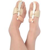 Pawaca Bunion Corrector, 2pcs Adjustable Hook and loop Bunion Splint Protector Sleeves Kit, Toe Spacers Alignment Straightener Splint Treat Pain in Hallux Valgus, Tailors Bunion, Big Toe Joint, Hammer Toe