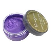 Hair Colour Wax ,Sansee Unisex DIY Grandma Hair Cream Hair Ash Dye Grey Mud Temporary Modelling Natural Hair Styling Wax for Party, Cosplay, Nightclub, Masquerad 80g