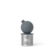 Viva Scandinavia Infusion Floating Tea Strainer, Stainless Steel, Charcoal, 4.9 x 4.9 x 9 cm
