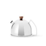 Viva Scandinavia Thomas Teapot (0.9L), Porcelain, Silver, 18.5 x 16 x 13.5 cm