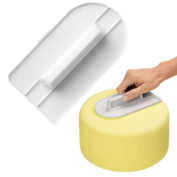Smoothing Spatula For Cakes/Patisserie, Made From Polycarbonate